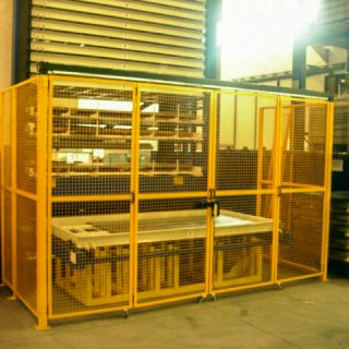 Protective structures for industrial plants