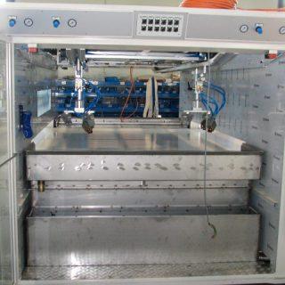 Impianto di lavaggio in inox