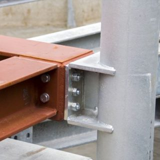 Parking frame structural node