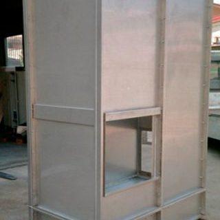 Torre di lavaggio in acciaio inox
